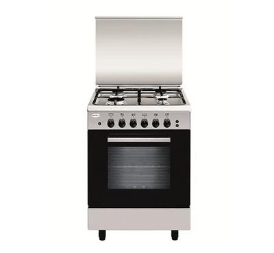 Glem Gas Cooker 4 Burners, Size 50X53, Full Safety,Steel