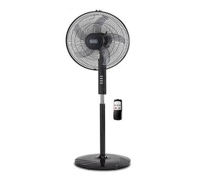 Black and Decker Pedestal Fan with Remote