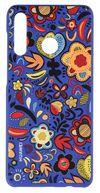 Huawei P30 lite 2019 Soft Back Case, Floral Blue