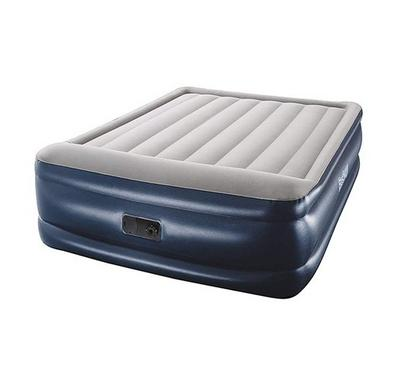 Bestway 2.03M * 1.52M * 56Cm Tritech Airbed Queen Built-In Ac Pump