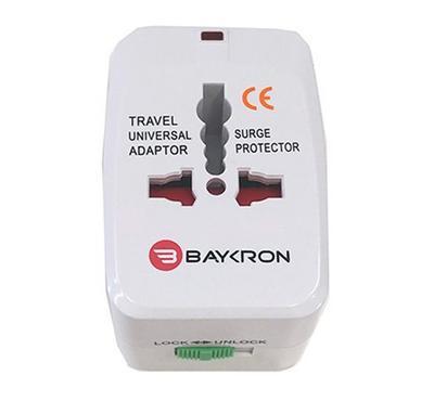 Baykron Itc001 Universal Travel Adapter White