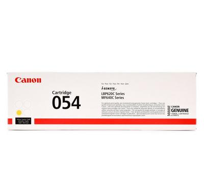 CANON Toner Cartridge 054 Yellow, Yield 1200 pages