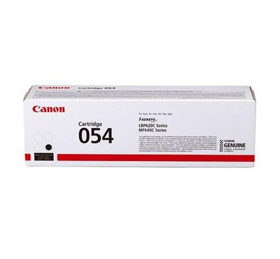 CANON Toner Cartridge 054 Black, Yield 1500 pages