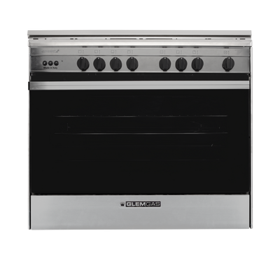 GlemGas Cooker, Gas/Electric, 60X90, 6Burner(4Gas+2Electric) Full Safety,Steel