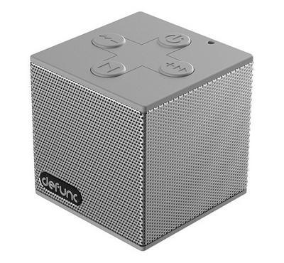 DeFunc Bluetooth Speaker S, Silverish