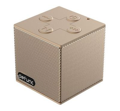 DeFunc Bluetooth Speaker S, Goldish