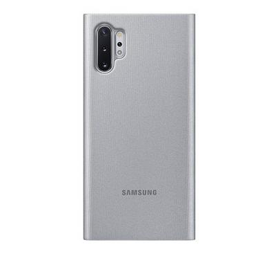 Samsung Note 10 Plus Clear View Cover, Silver