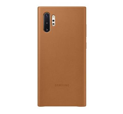 Samsung Note 10 Plus Leather Cover, Brown