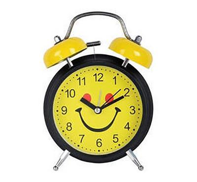 RSC 10 cm Twin Bell Table Alarm Clock Assorted