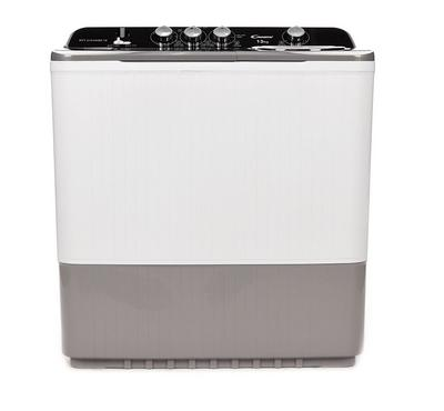 Candy Twin Tub Semi Automatic Washing Machine, 13Kg,White-Grey