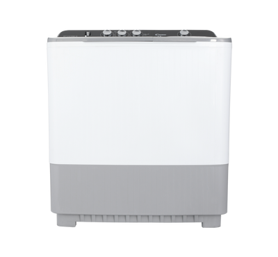 Candy Twin Tub Semi Automatic Washing Machine, 15Kg,White-Grey