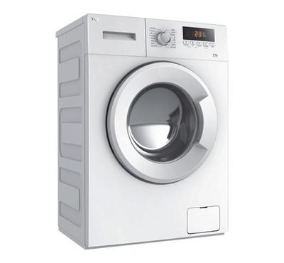 TCL 10 kg Front Loading Automatic Washing Machine White
