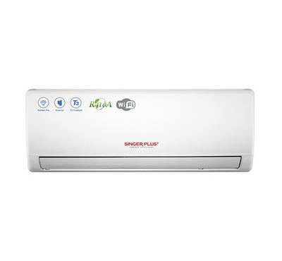 Singer Plus Split AC, 2.0 Tons, 24000 BTU Hot/Cold, Inverter, White