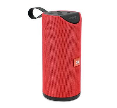 Promate 6W Portable Wireless Speaker with Handsfree, Red
