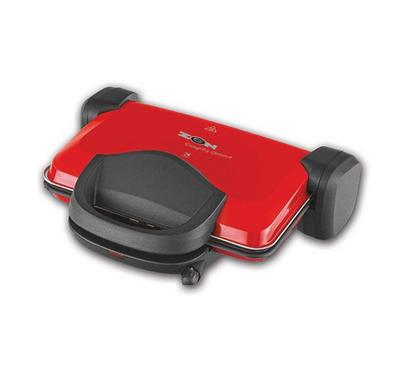 Zen 4s Electric Contact Grill Non-Stick 1800W Red
