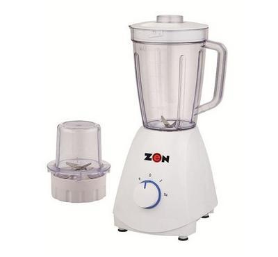 Zen 1.7L Blender Plastic Jar With 1 Mill 400W White