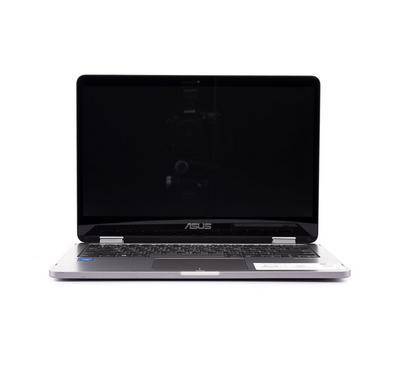 ASUS VivoBook Flip 14 TP401MA,Celeron, RAM 4GB, 64GB, 14Inch, Light Grey Metal