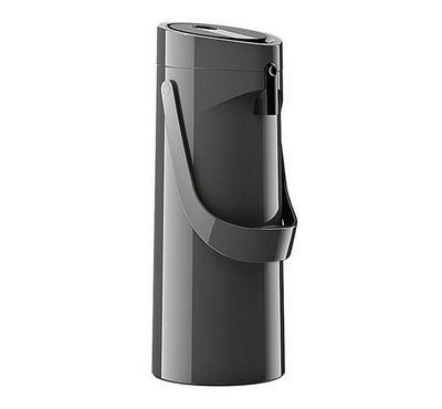 Emsa PONZA 1.9L Pump Vacuum Flask Jug Plastic Grey