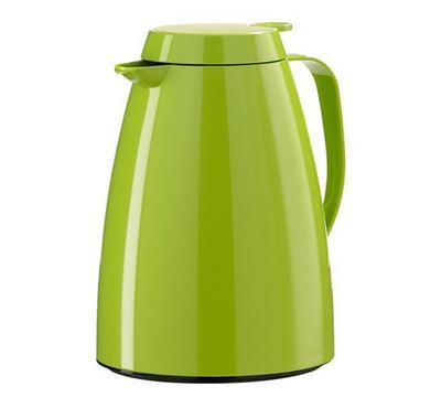 Emsa BASIC 1.5L Vacuum Flask Jug Plastic Light Green