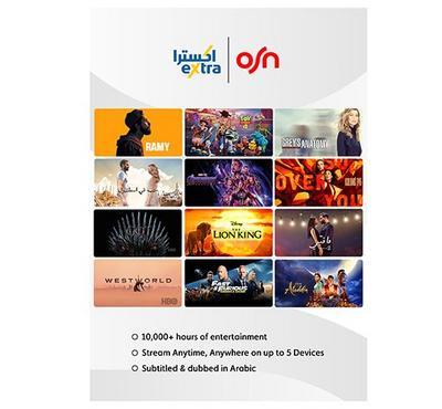 OSN Streaming App Subscription, 3 months Voucher
