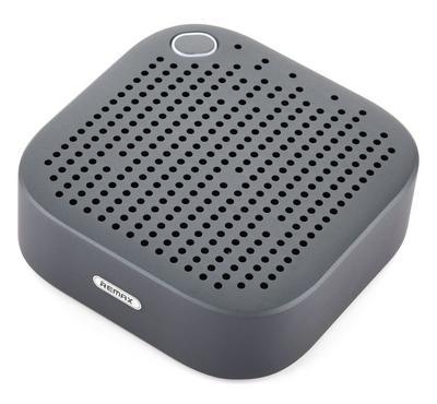 Remax Portable and Metal Bluetooth Speaker, Cobalt Blue