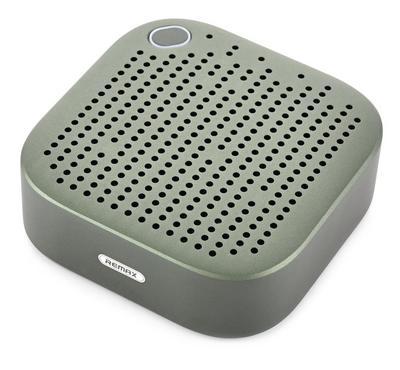 Remax Portable and Metal Bluetooth Speaker, Dark Green