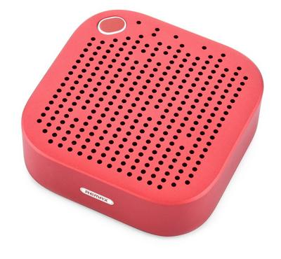 Remax Portable and Metal Bluetooth Speaker, Red