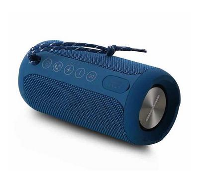 Remax Portable and Water Proof Bluetooth Speaker, Blue