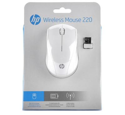 HP Wireless Mouse 220 Snow White
