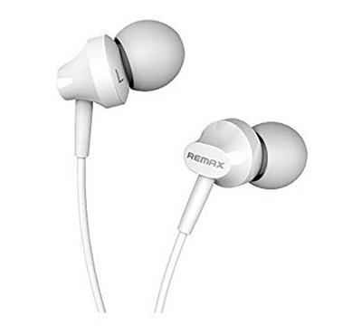 Remax Wired Earphone, White