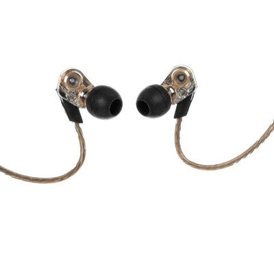 Remax Wired Earphone with Sports Earhook, Black