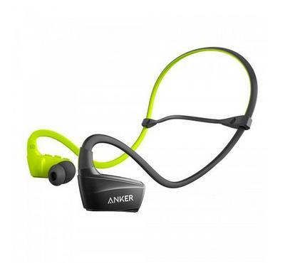 Anker SoundBuds Sport NB10 Bluetooth Headphones WM US,Black /Green