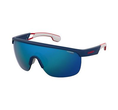 Carrera Sunglass  for Men  rectangular Dark blue with blue lence