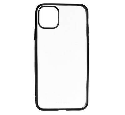 Hyphen iPhone 11 PRO MAX Black Frame Case, Clear
