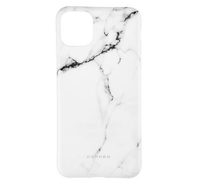Hyphen iPhone 11 PRO MAX Marble Case, White
