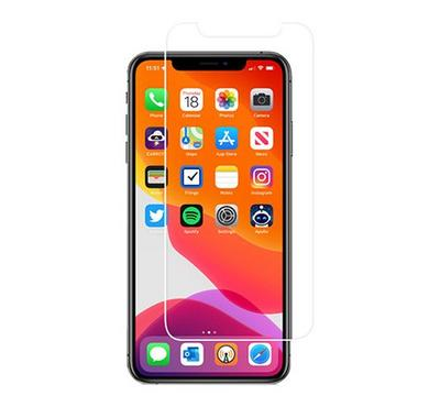 Hyphen iPhone 11 PRO Tempered Glass Case Friendly, Black