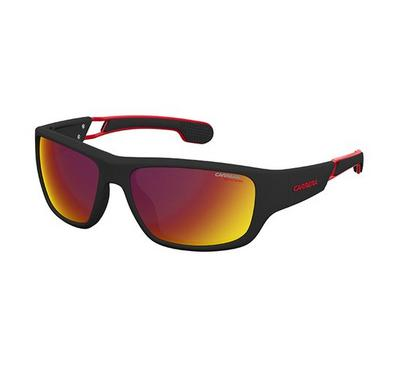 Carrera Sunglass for men  rectangular  matte black with red lence