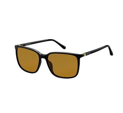 فوسيل، نظارة شمسية، إطار بني ، عدسة بني