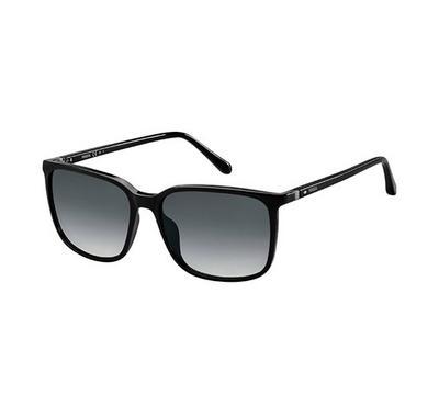 فوسيل، نظارة شمسية، إطار ذهبي ، عدسة بني