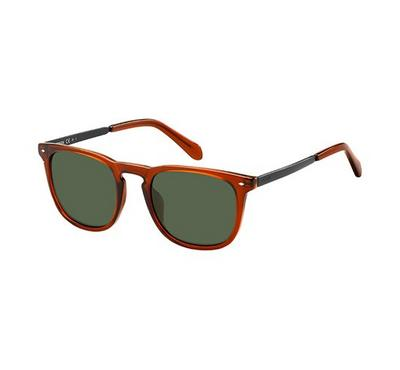 Fossil Sunglass man rectangular  hawana with Brown lens