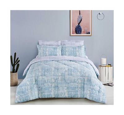 Cottage, Comforter King Size 5 Pcs Set-Besiktas Indigo