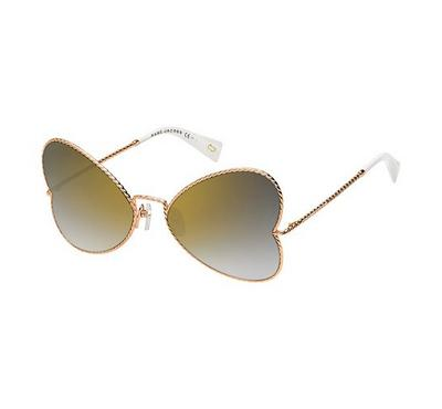 marc jacobs  sunglass for women silver with grey lens