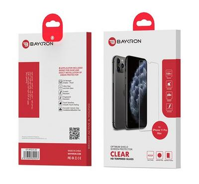 Baykron OT-IPC6.5-2D Clear Tempered Glass iPhone 11 XS-Max