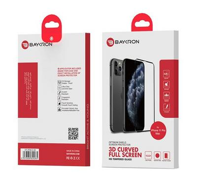 Baykron OT-IPD6.5-3D Edge To Edge Temperd Glass Iphone 11 Xs-Max
