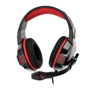 Kotion Each, Pro gaming headset surrounding with mic for PS4, black and red