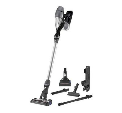 Tefal Cordless Vacuum Handstick Air Force 360, 21.9V.  Dust container 0.65L.Black and Grey.