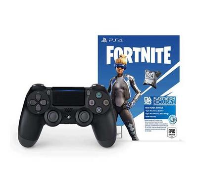 Sony DUAL SHOCK 4 PS4 Wireless Controller +Fornite Black