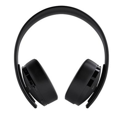 Sony GOLD PS4 Wireless Gaming Headset +Fornite Voucher Black