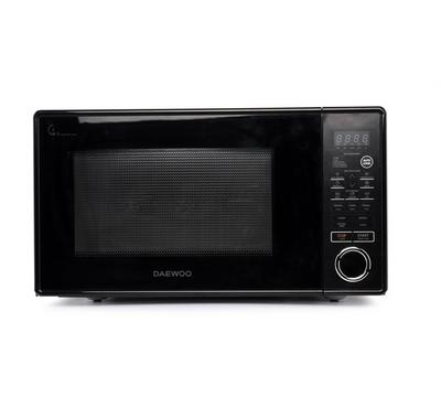 Daewoo Microwave, 37L. Concave Reflex System, 10 Microwave Power Llevels,Black