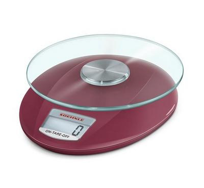 Soehnle Kitchen Scales. Roma Red.